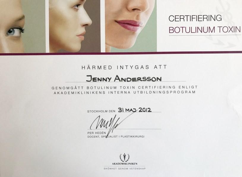 Art Face Certifierad Injektionsklinik
